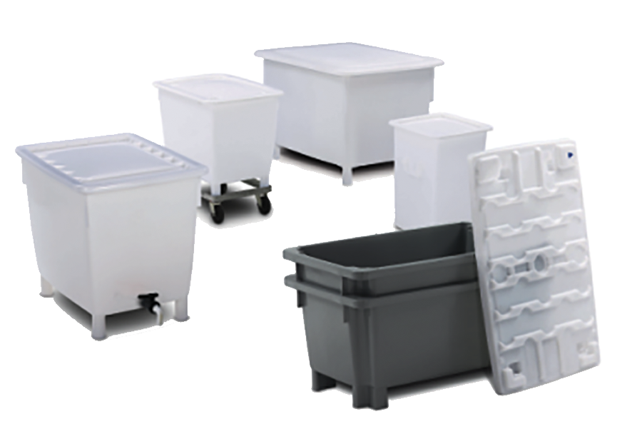 Other plastic containers and bins